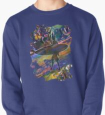 SURF'S UP COLOURFUL SURFER SILHOUETTE Pullover