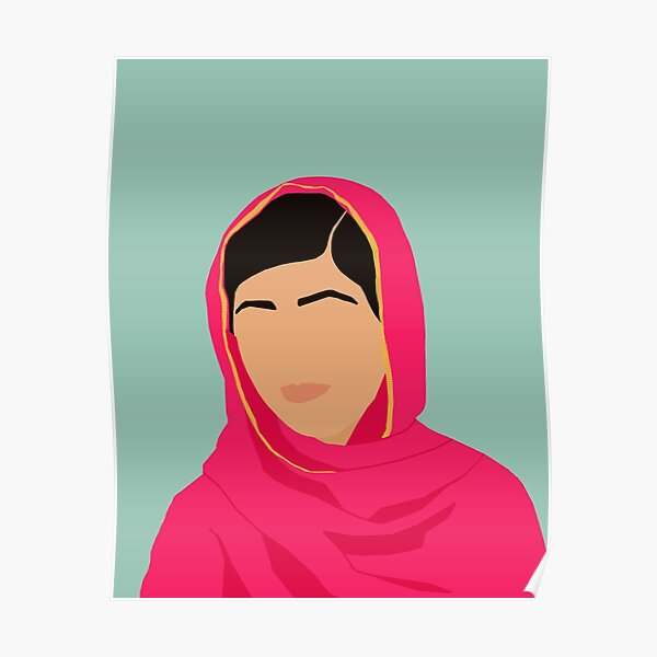 Malala - Feminist Icons & Inspiring Women Poster