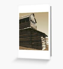 Old Watch Tower Greeting Card