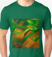 Fields from the air Unisex T-Shirt