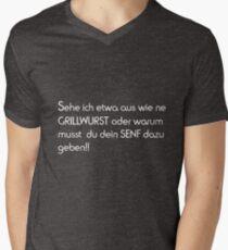 claims Men's V-Neck T-Shirt