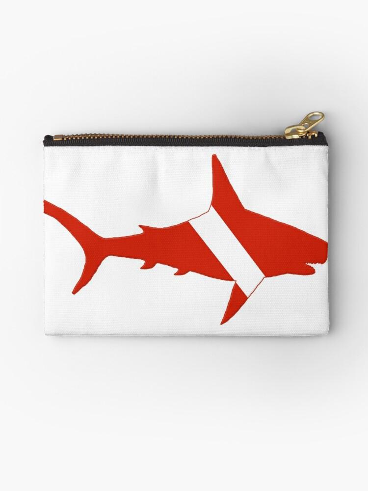 Shark Scuba Diver Silhouette by surgedesigns