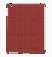Crimson garden - wallpaper iPad Case/Skin