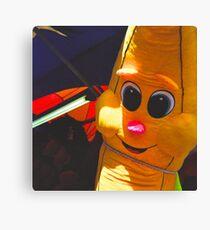 Banana Prize - Minnesota State Fair - Diana F+ 120mm Photograph Canvas Print