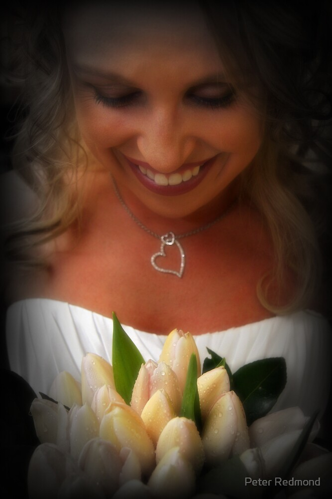 Her Flowers by Peter Redmond