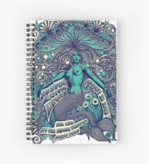 Black Angels Spiral Notebook
