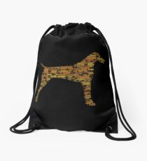 German Shorthaired Pointer Drawstring Bag