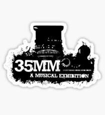 35mm Musical Logo Sticker