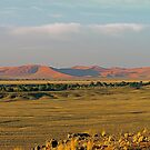 distant sand dunes by mamba