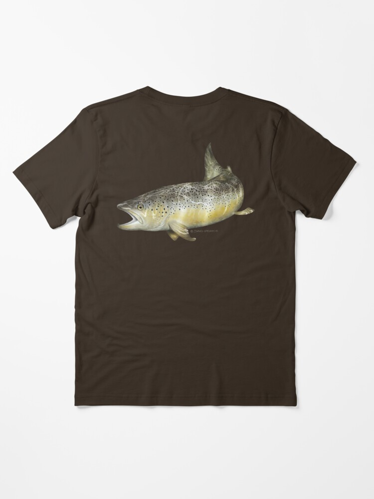 Alternate view of Brown Trout Essential T-Shirt