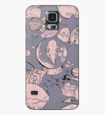 Pagan Pastel Skulls Case/Skin for Samsung Galaxy