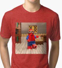 Prototype Suit Tri-blend T-Shirt