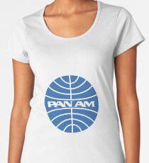 Pan Am Classic Logo Women's Premium T-Shirt