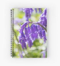 Bluebells Spiral Notebook