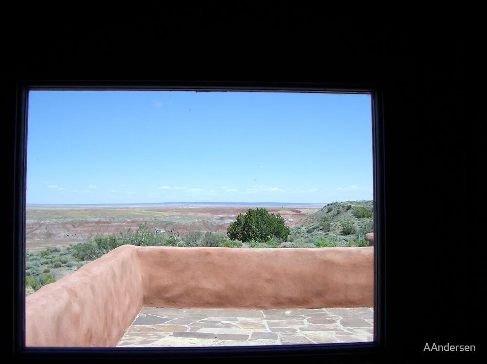 Desert Window by AAndersen