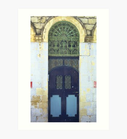 Eastern Doorway Art Print