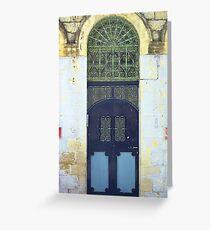 Eastern Doorway Greeting Card