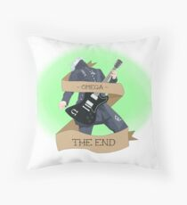 The End- Omega Ghoul Throw Pillow