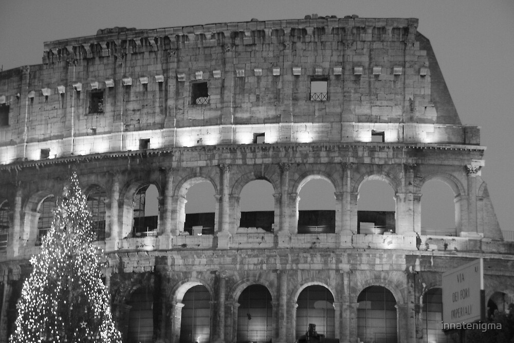 Christmas at the Colosseum by innatenigma