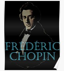 Fr D Ric Chopin Poster
