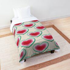 Summer Love - Watermelon Heart Comforter