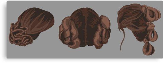 Galatic Heroine Hairstyles by catpunzel