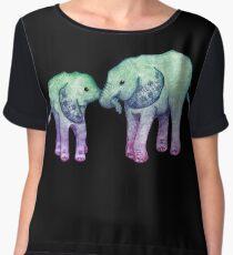 Baby Elephant Love Chiffon Top