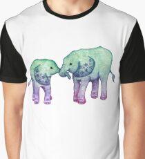 Baby Elephant Love Graphic T-Shirt