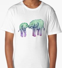 Baby Elephant Love Long T-Shirt