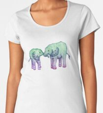 Baby Elephant Love Women's Premium T-Shirt