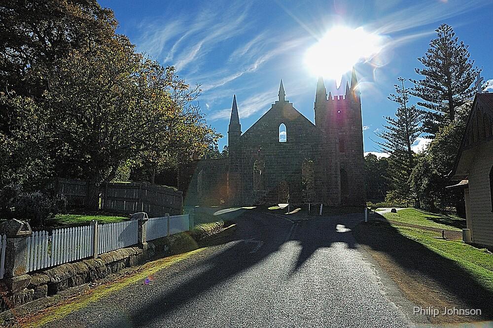 Lost Souls Of Port Arthur...Let Us Pray - Port Arthur Historic Park, Tasmania Australia by Philip Johnson