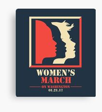 Women's March Canvas Print