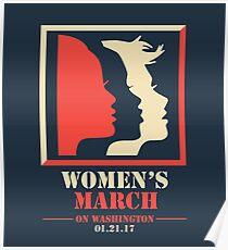 Frauen März Poster