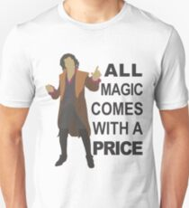 Rumple - All Magic - Black Text Unisex T-Shirt
