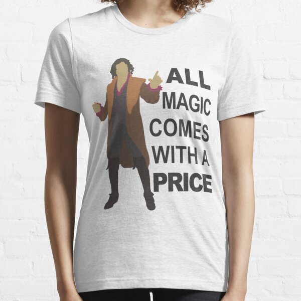 Rumple - All Magic - Black Text Essential T-Shirt