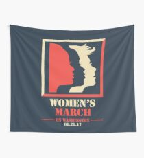 Women's March Wall Tapestry