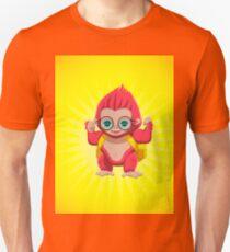 Red Gorilla Unisex T-Shirt