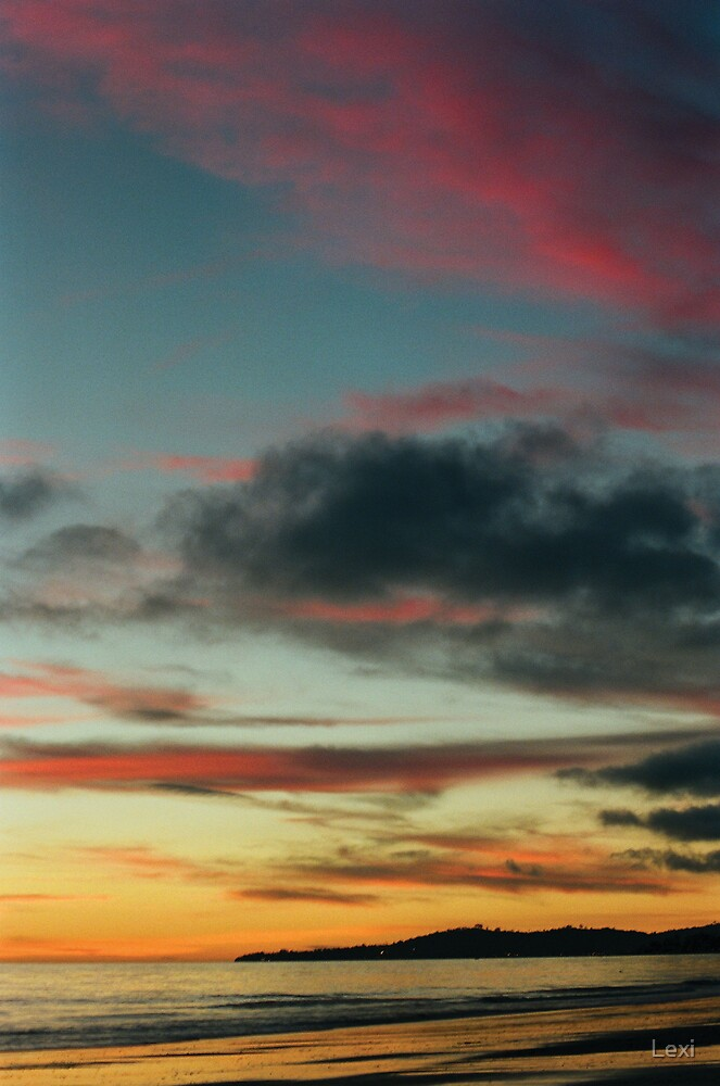 Pastel Infused Sunset by Lexi