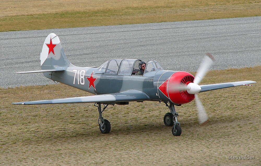 Yakovlev Yak-52 by stevealder