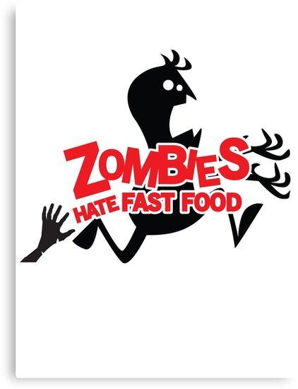 Zombies Hate Fast Food! by nektarinchen