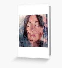 Becoming Me - A Self Portrait Greeting Card
