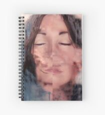 Becoming Me - A Self Portrait Spiral Notebook