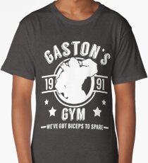 Gaston's Gym (White Version) Long T-Shirt