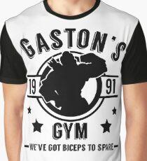 Gaston's Gym (Black Version) Graphic T-Shirt