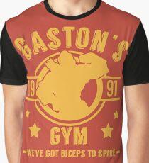 Gaston's Gym (Red & Yellow Version) Graphic T-Shirt