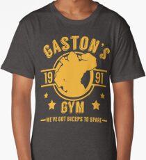 Gaston's Gym (Red & Yellow Version) Long T-Shirt