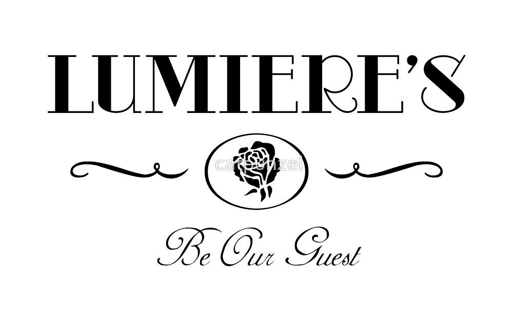 Lumiere's (Black Version) by catpunzel
