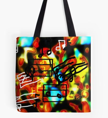 i Hear Music in the Air Tote Bag