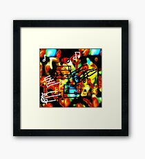i Hear Music in the Air Framed Print