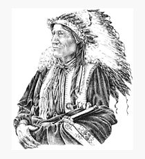 Native American Photographic Print